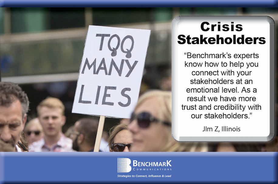 stakeholders protesting crisis