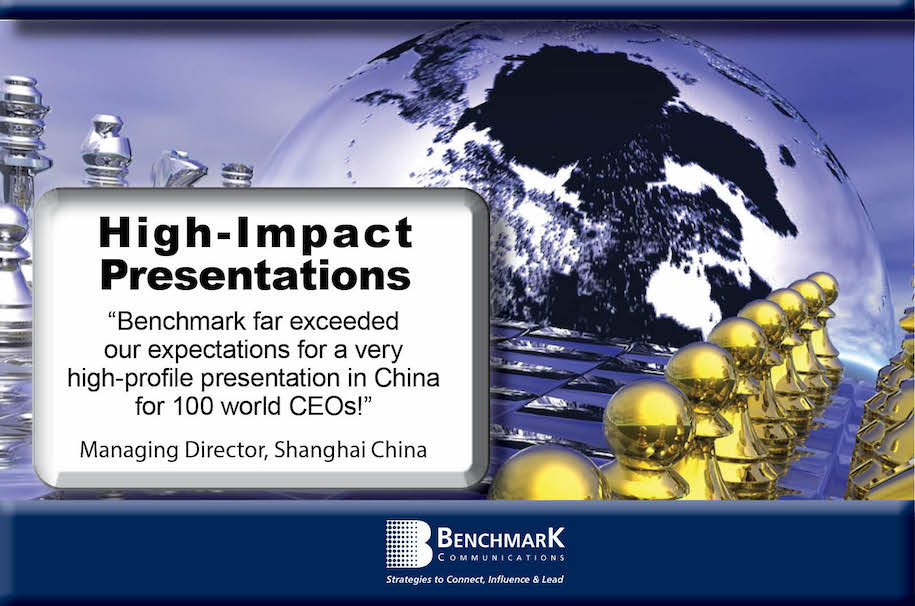 high impact presentation strategy