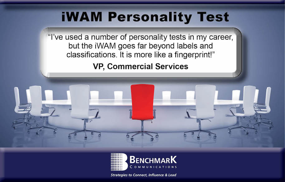 iWAM Personality Test for Leaders