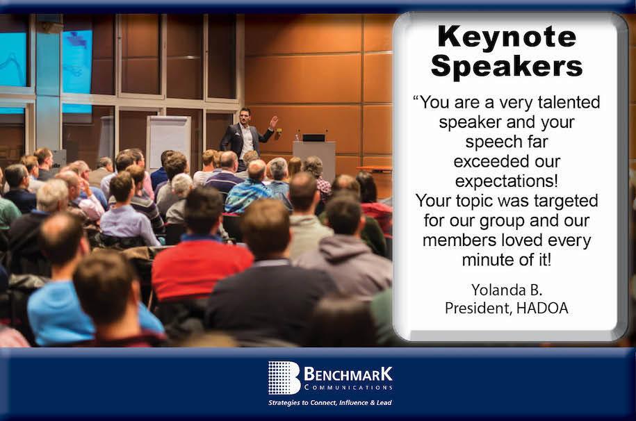 keynote speaker industry conference audience