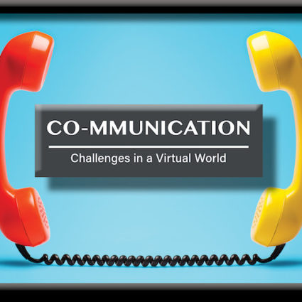 Communication skills for virtual meetings