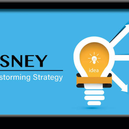 Disney brainstorming strategy graphic