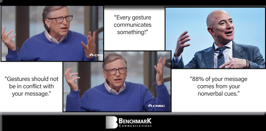 Gates & Bezos Gestures
