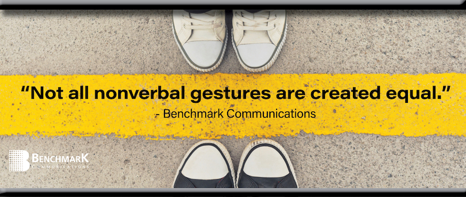 nonverbal gesture not equal graphic